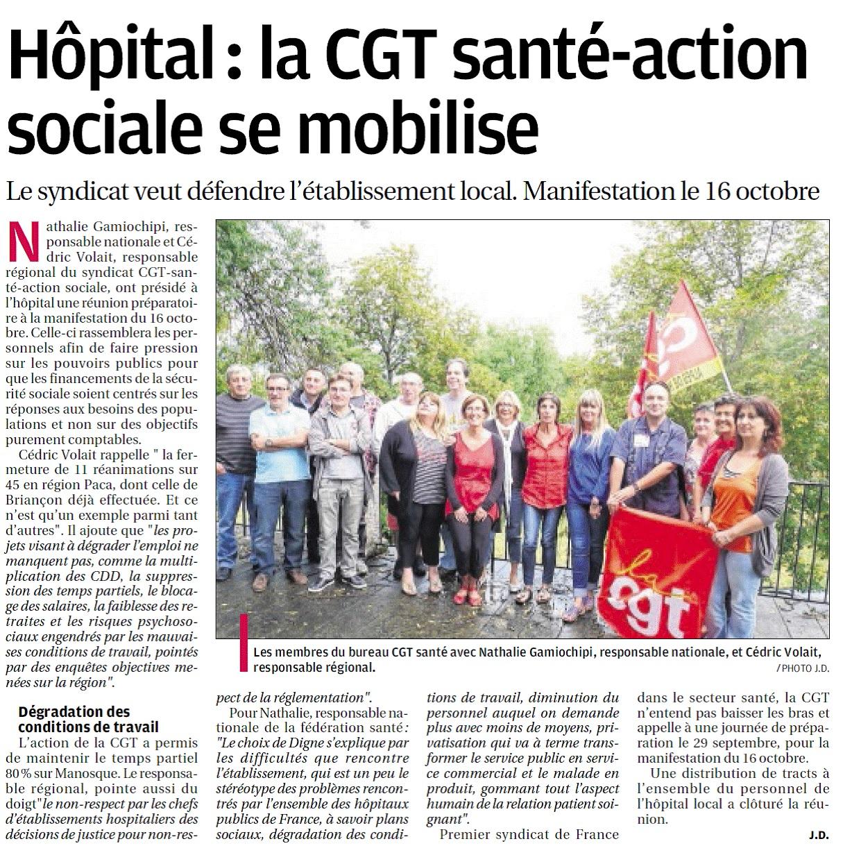 CGT Santé PACA 22-09-2014
