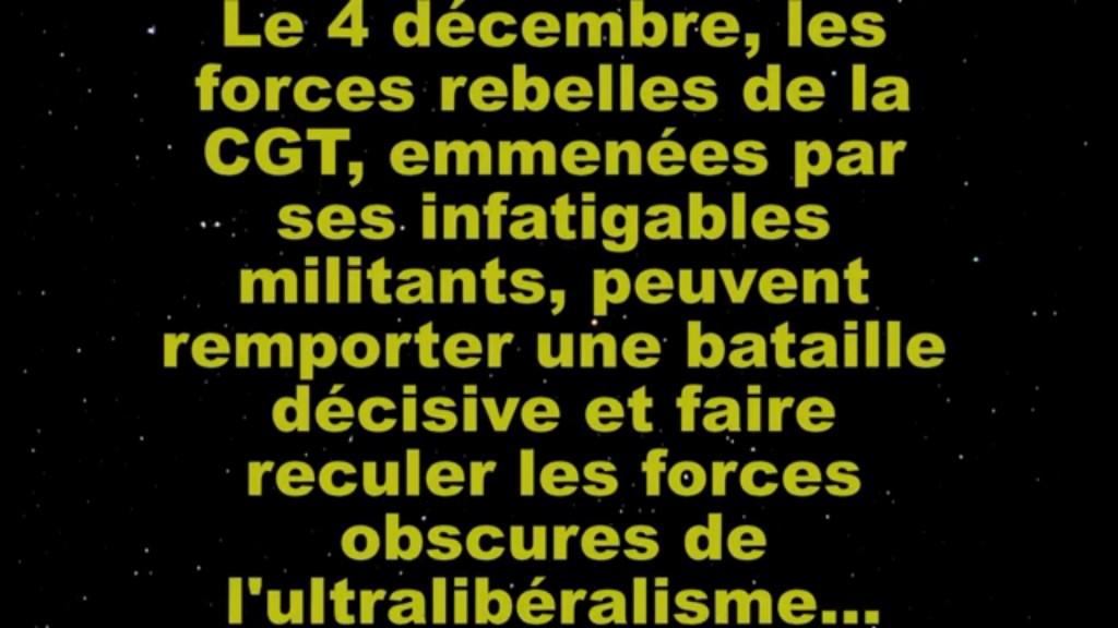 CGT Wars 4 décembre 2014