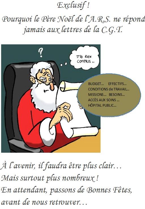 Lettre au père Noël CGT