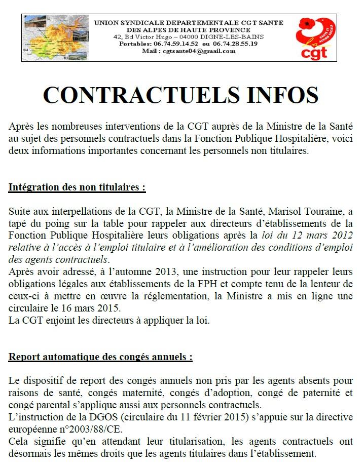 Contractuels Infos