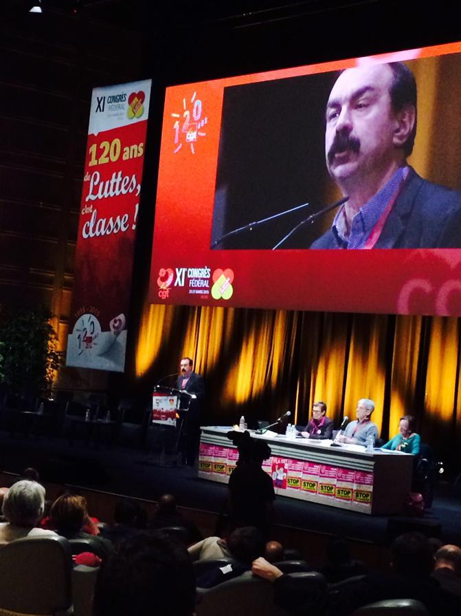 Congrès Santé Philippe Martinez