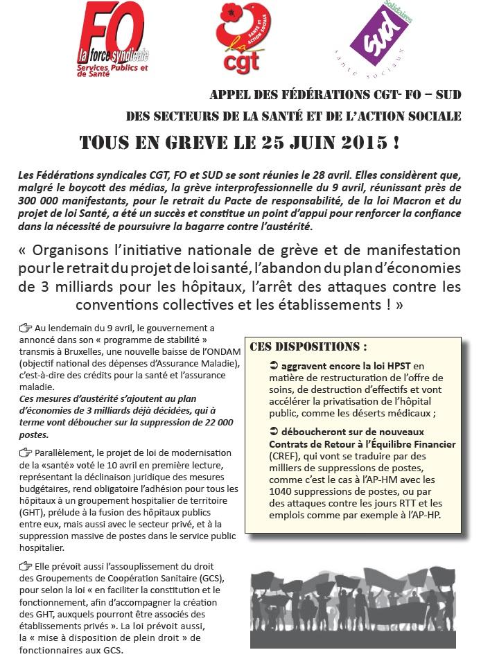 Tract CGT pour le 25 juin 2015 (1)