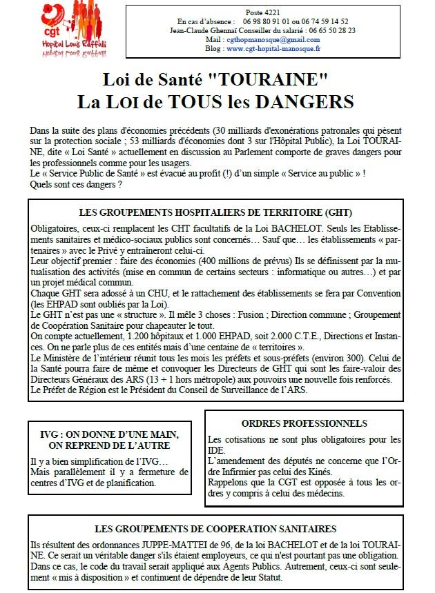 Tract CGT Loi Santé autre (1)