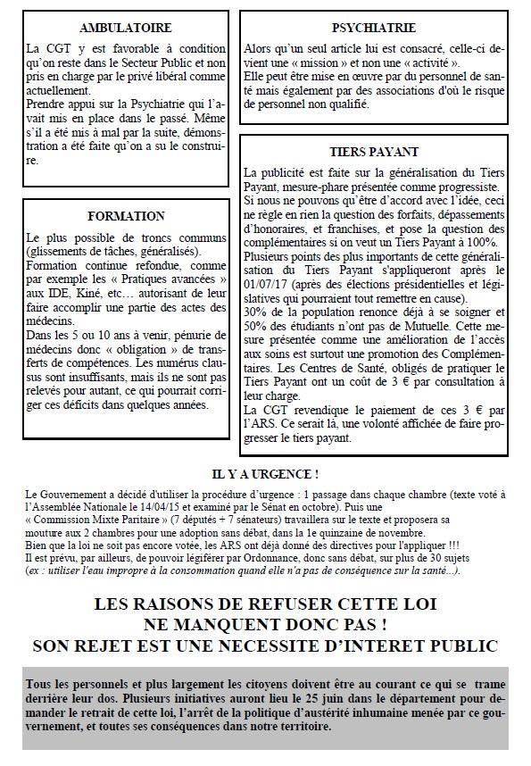 Tract CGT Loi Santé autre (2)