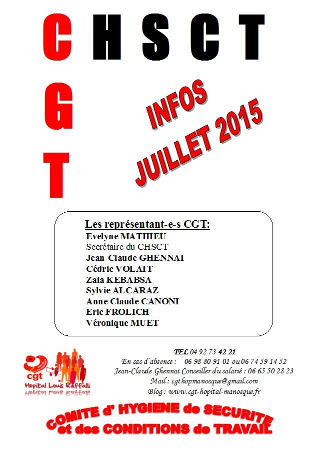CHSCT Info CGT juillet 2015 (1)