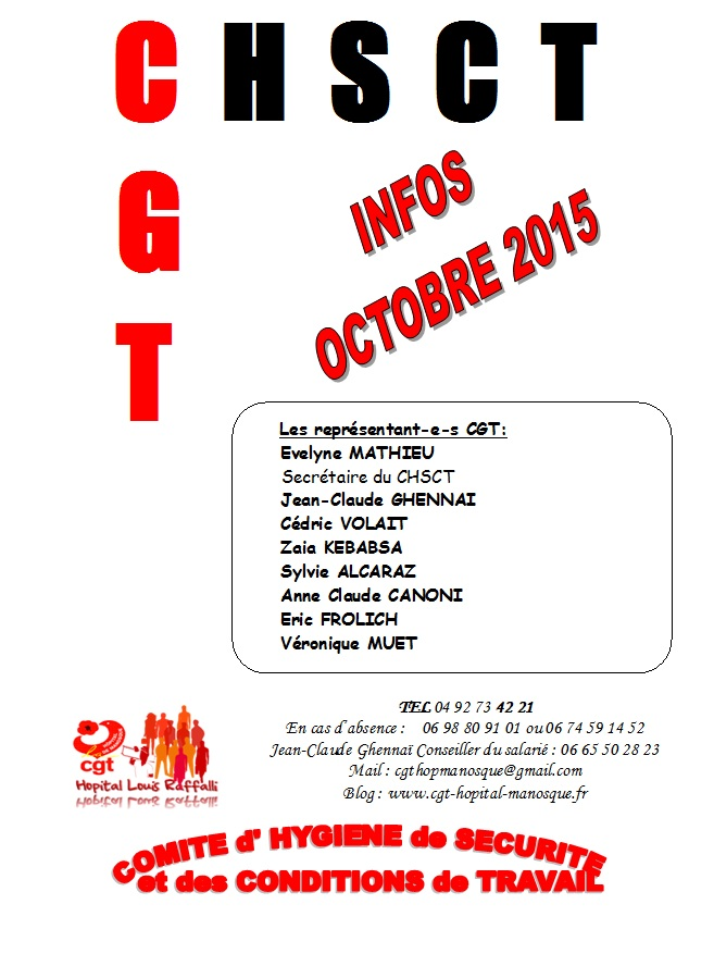 CHSCT octobre 2015 page 1