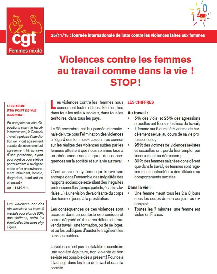 Tract 25 novembre 2015 violences femmes (1)