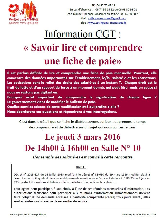 La cgt du centre hospitalier de manosque 26 f vrier 2016 - Cgt grille indiciaire fonction publique hospitaliere ...