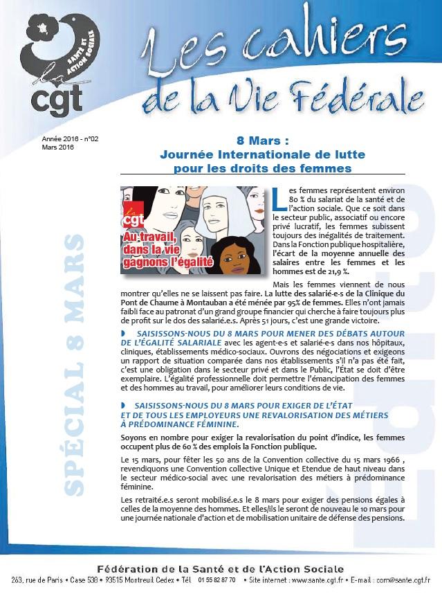684. Les CVF CGT 8 mars 2016