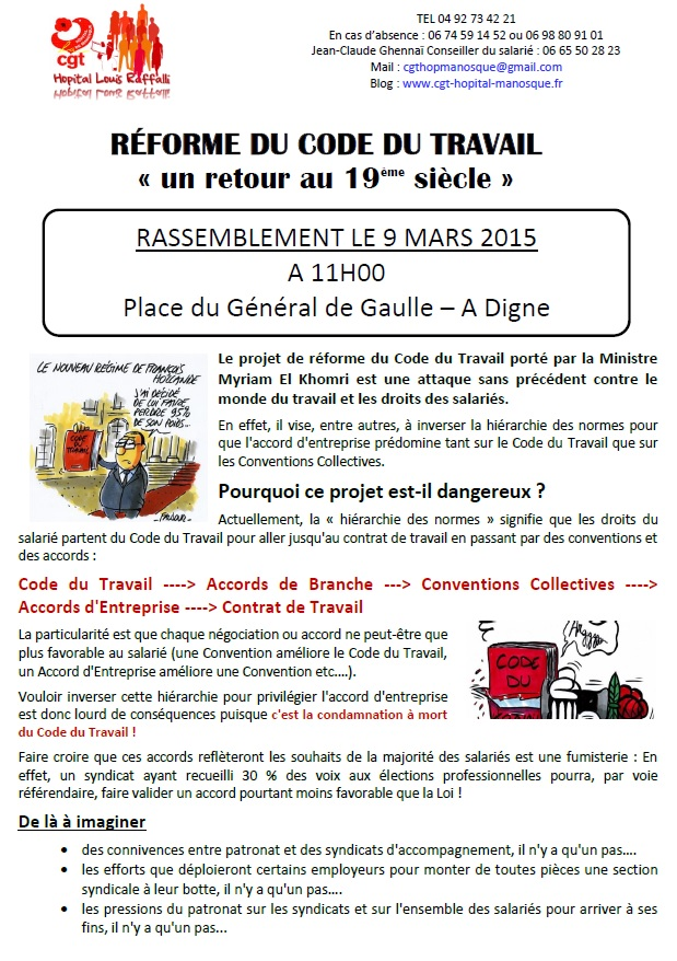 Tract CGT Loi Travail 9 mars (page 1)