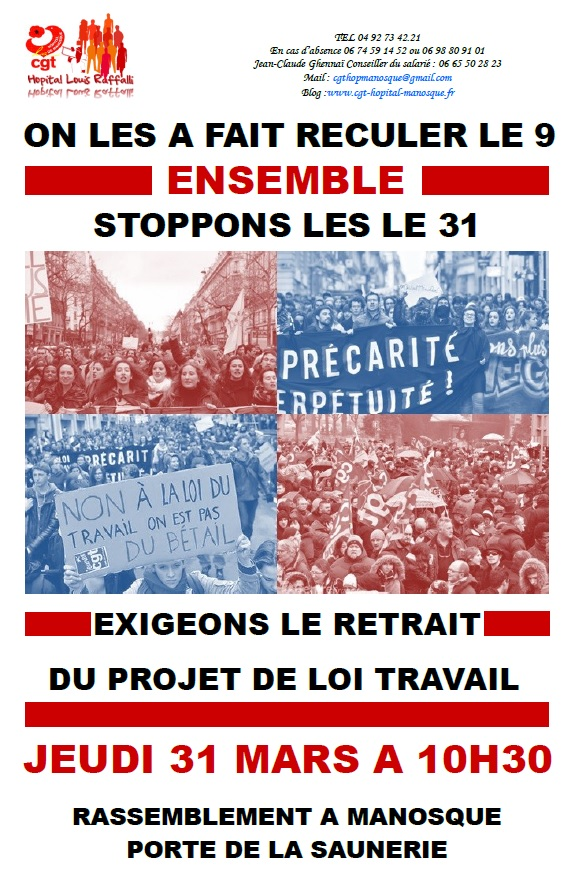 Tract Loi Travail 31 mars 2016 p1