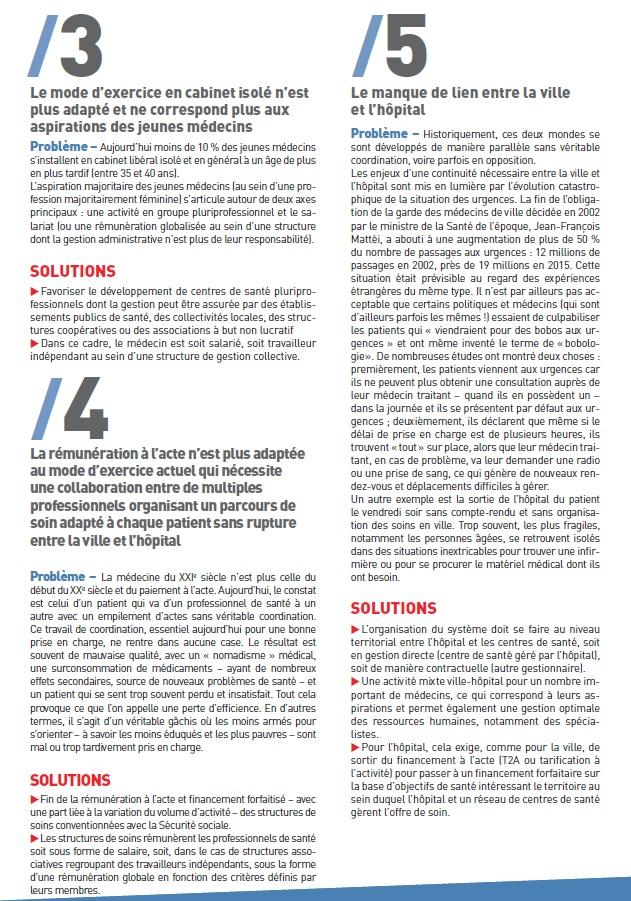 784. 4 pages réorganisation de notre système de Santé (p2)