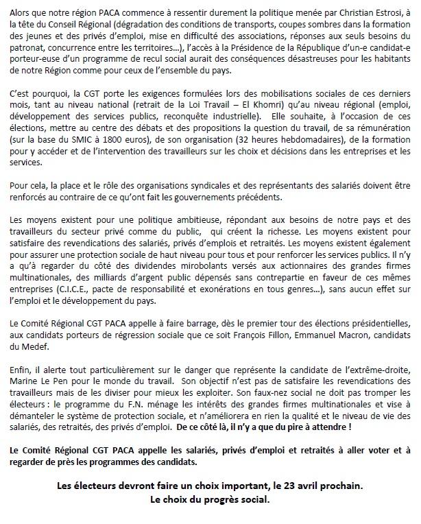 790. Declaration CR CGT PACA - Elections Presidentielles 2017 (2)