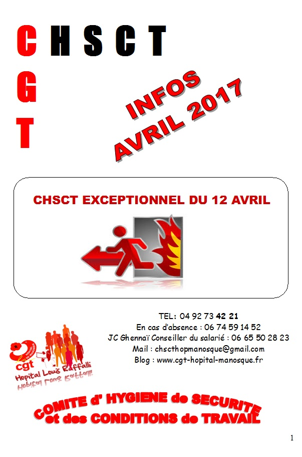 797. Info CHSCT incendie hôpital de Manosque p1