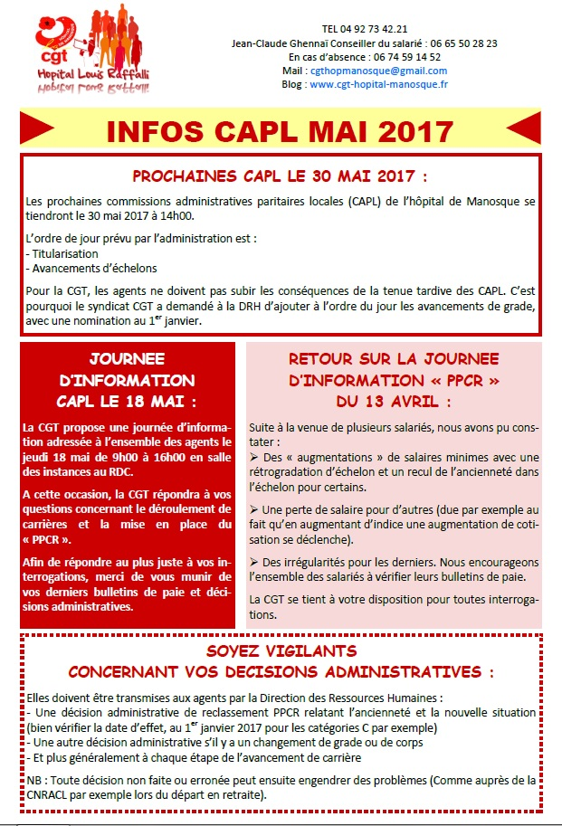 803. Tract CGT CAPL PPCR mai 2017