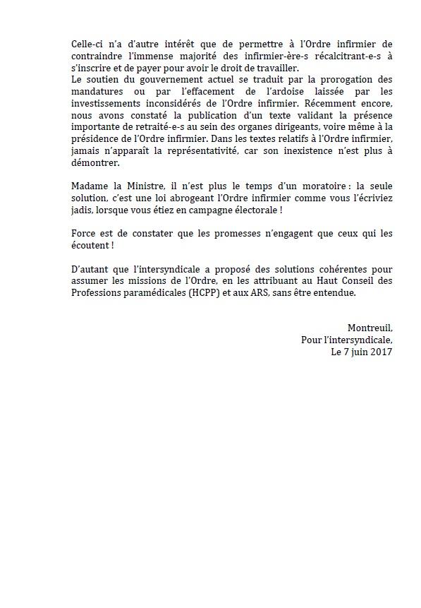813. Communiqué ONI ordre infirmier juin 2017 p2