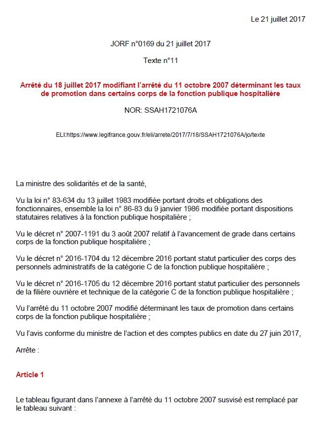 824. Taux de promotion FPH juillet 2017 (1)