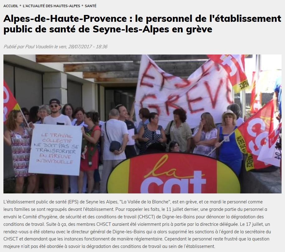 829. DICI TV Grève Seyne les Alpes