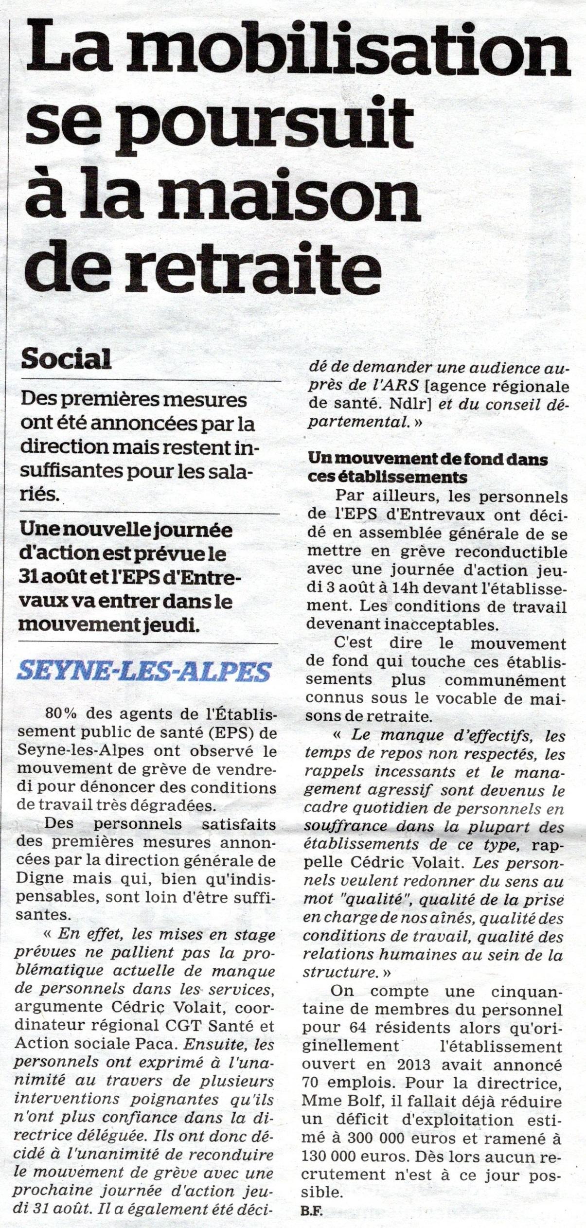 833. La Marseillaise du 1er août 2017 (p1)