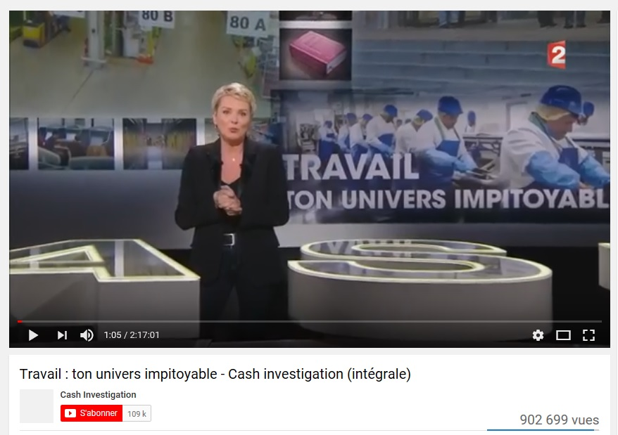 Cash Investigation Travail ton univers impitoyable (1)