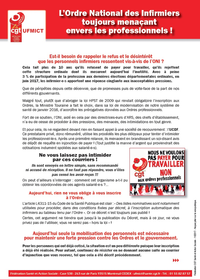 869. Tract UFMICT Ordre Infirmier ONI (1)