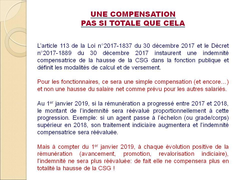 874. Hausse CSG Fonctionnaires (p4)
