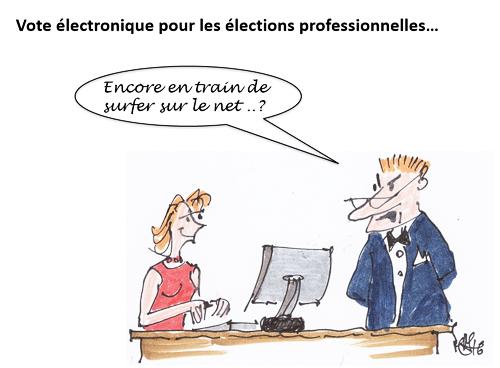 Vote électronique FPH hôpital