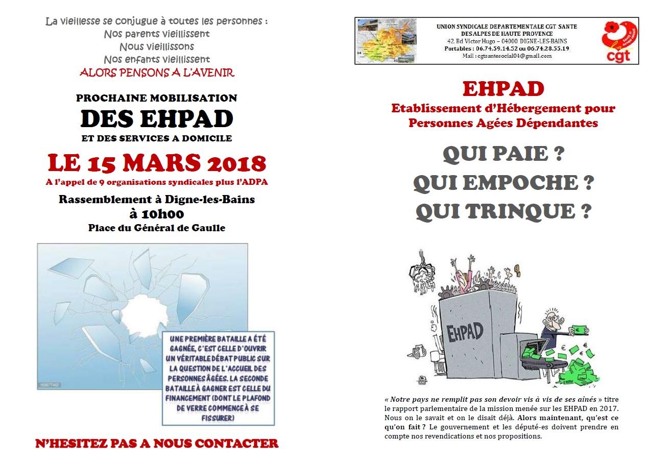 909. Livret tract EHPAD pages 1 et 4