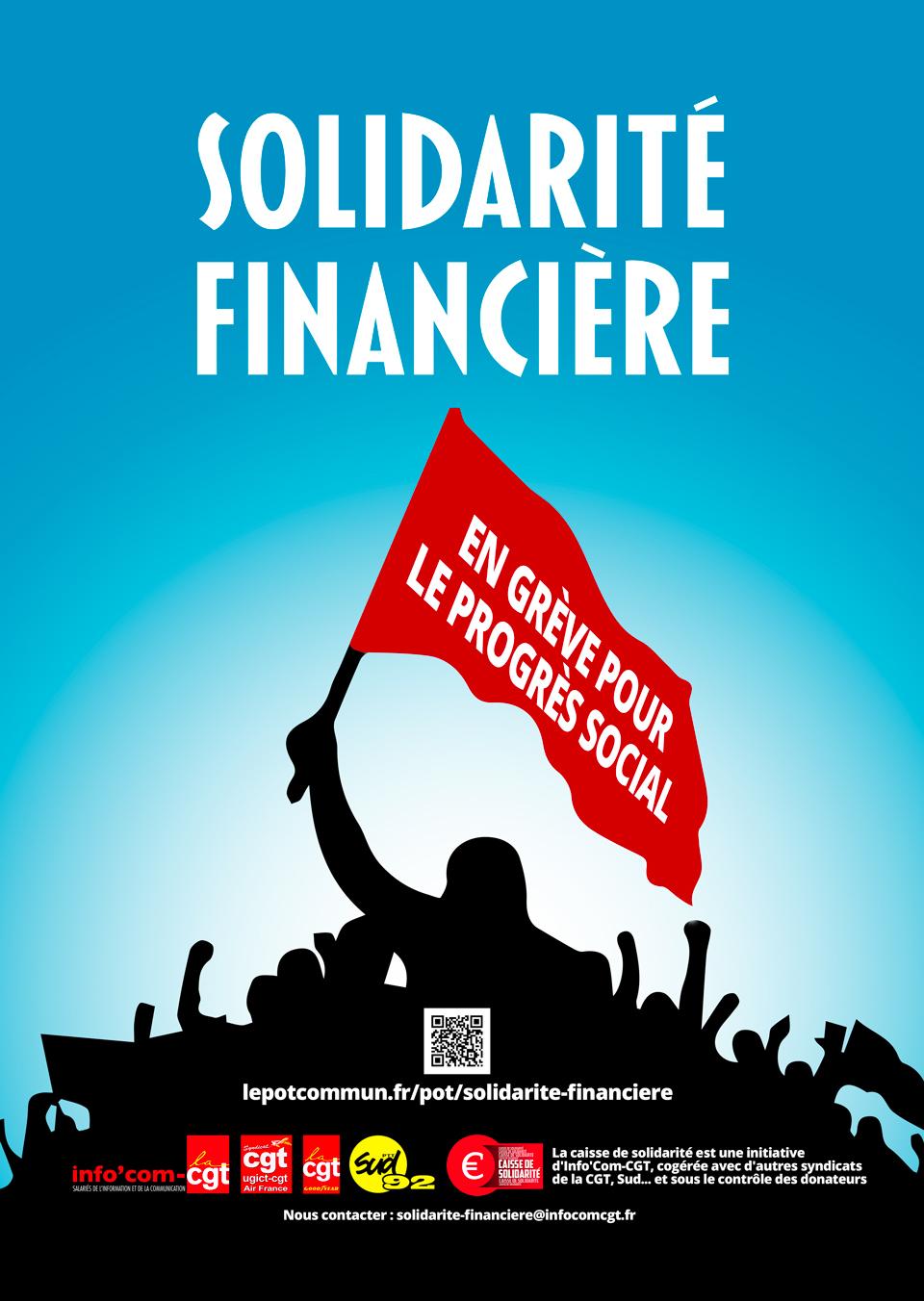 938. Solidarité financière grévistes SNCF