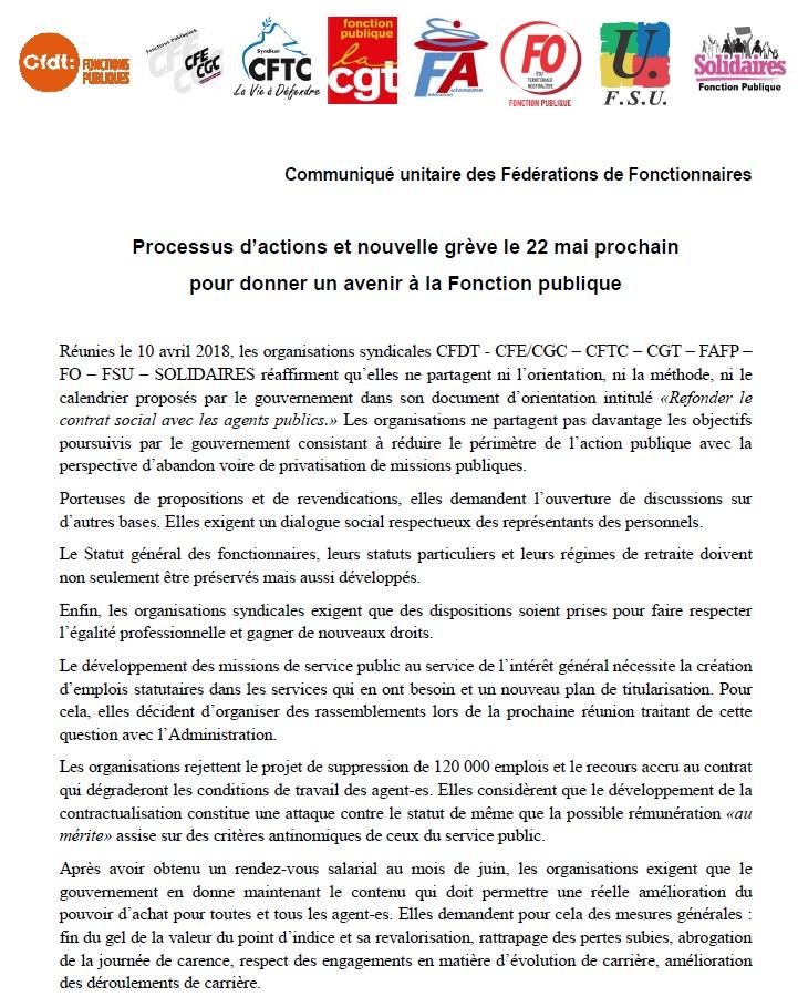 942. Tract grève fonction publique 22 mai (1)