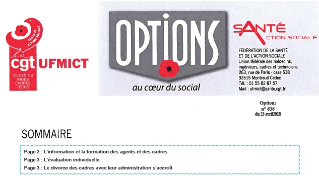 946. Options CGT UFMICT avril 2018