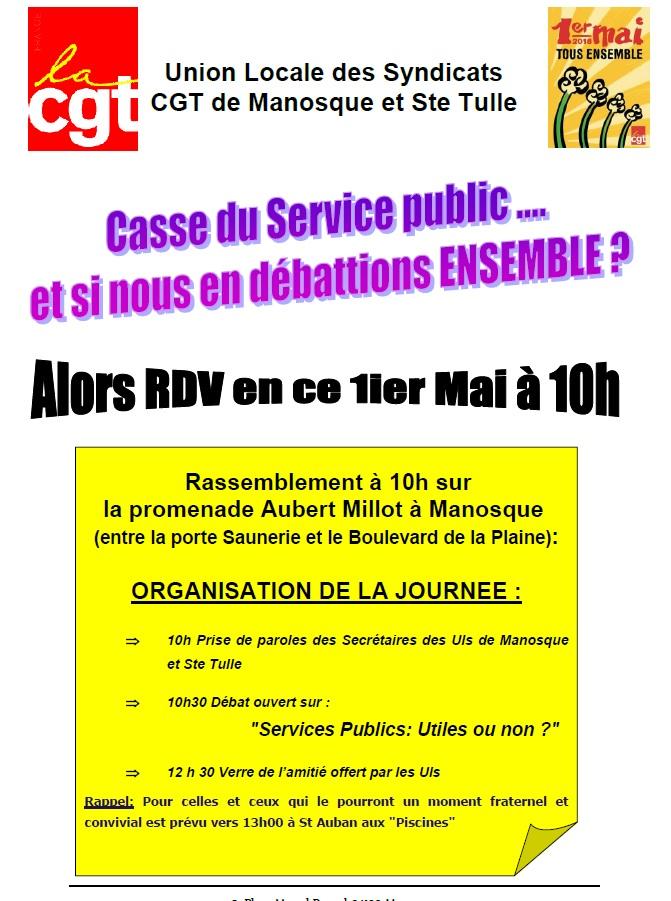 Tract 1er mai UL Manosque