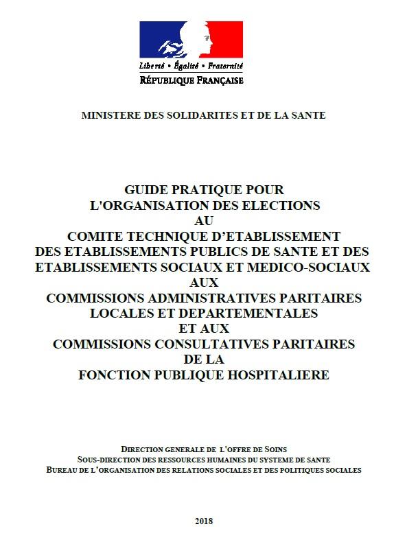 959. Guide élections professionnelles 6 décembre 2018