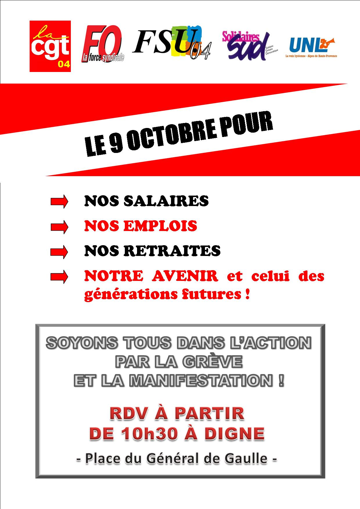 1003. Tract intersyndical mobilisation du 9 octobre (1)