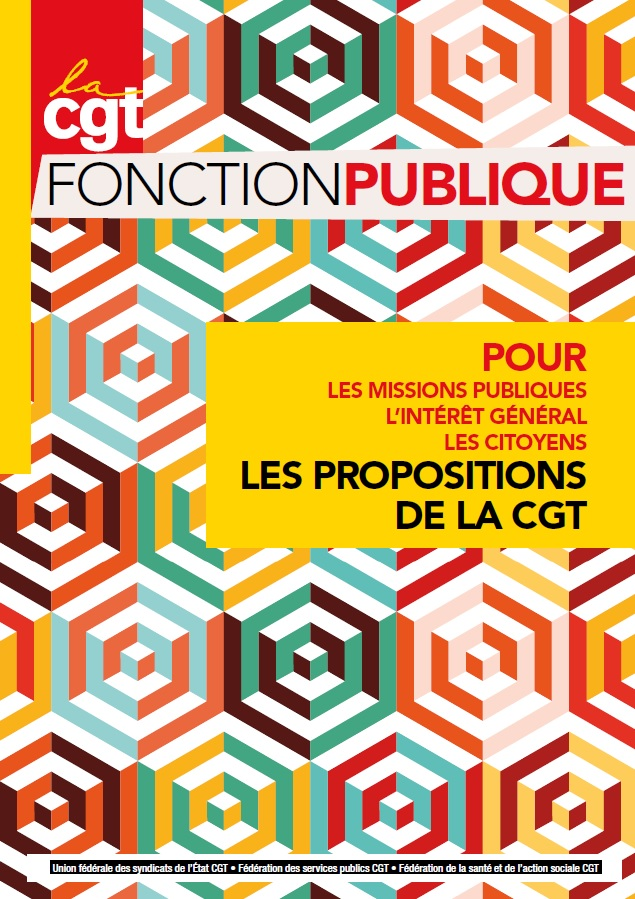 994. Propositions CGT fonction publique (1)