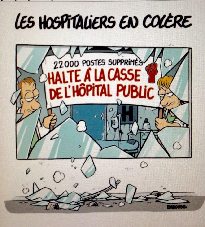 Hôpital Public, un enjeu sociétal majeur