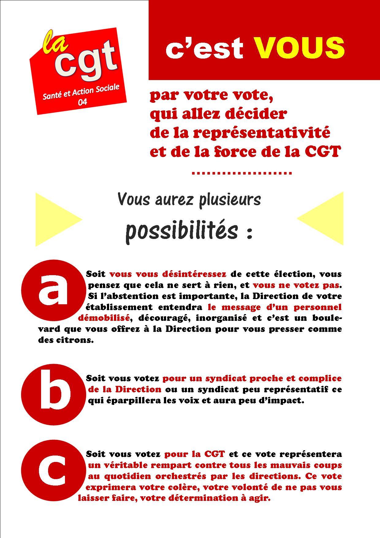 USD CGT Santé élections professionnelles 6 décembre 2018 (3)