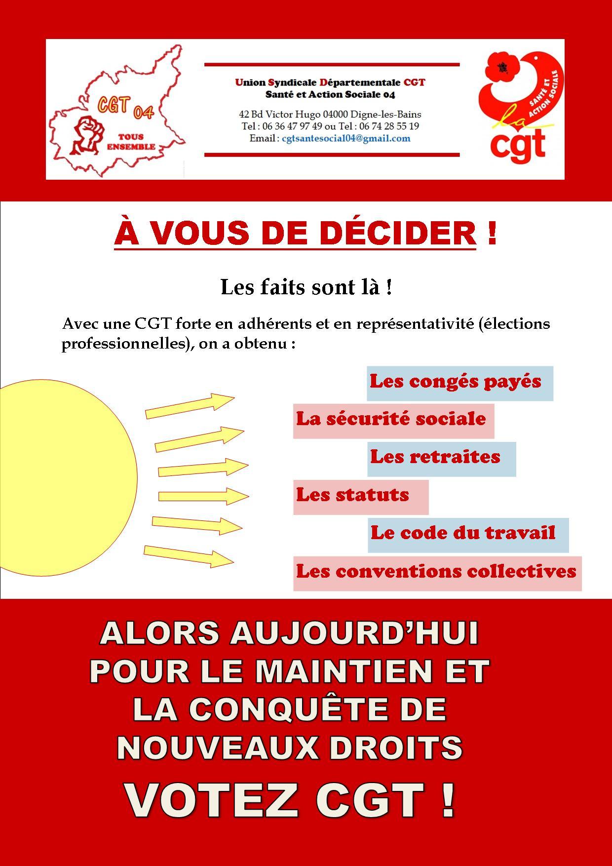 USD CGT Santé élections professionnelles 6 décembre 2018 (4)