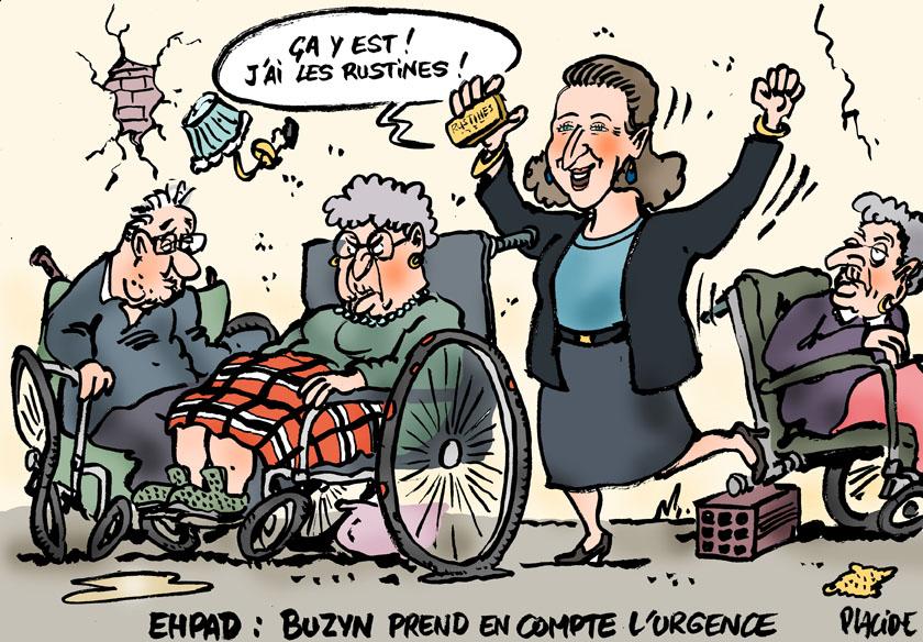 Buzyn prime aide-soignante EHPAD