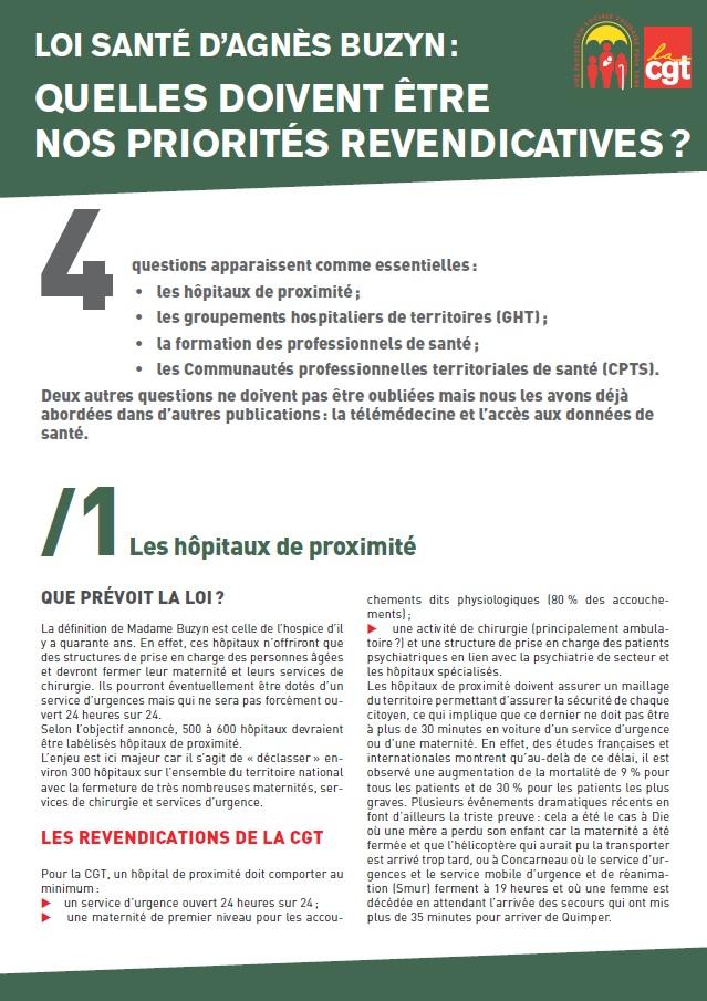 Projet de Loi Santé Buzyn (1 sur 4)