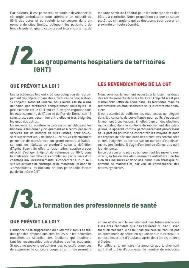 Projet de Loi Santé Buzyn (2 sur 4)