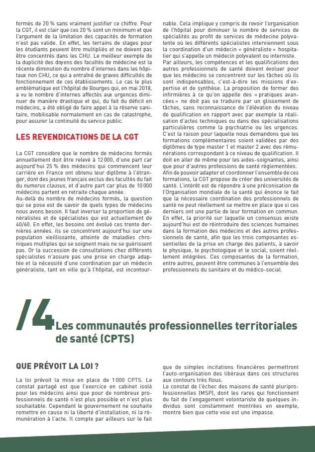 Projet de Loi Santé Buzyn (3 sur 4)