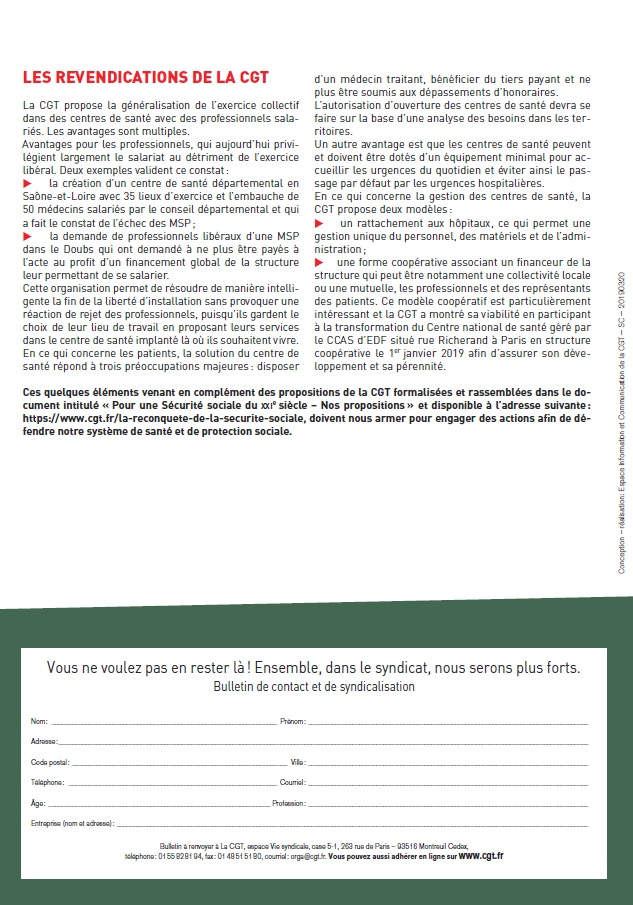 Projet de Loi Santé Buzyn (4 sur 4)