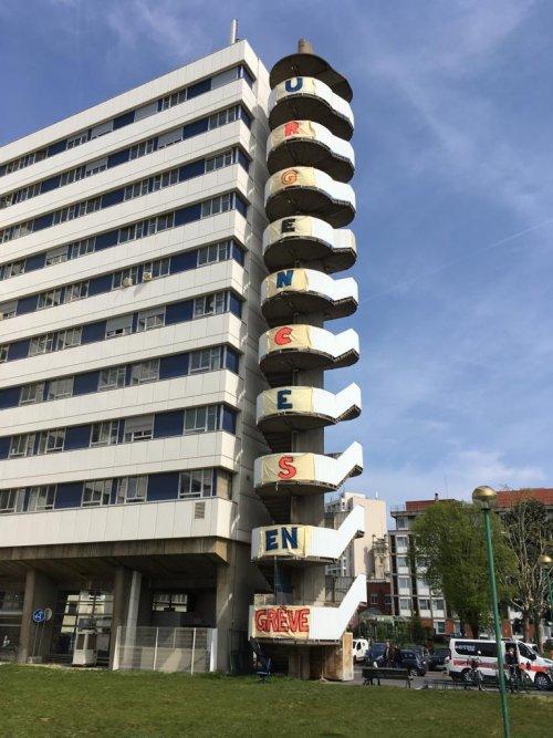Hôpitaux de Paris en grève