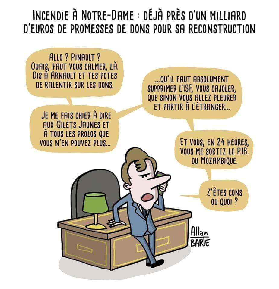 Notre Dame, 1 milliard de promesses de dons