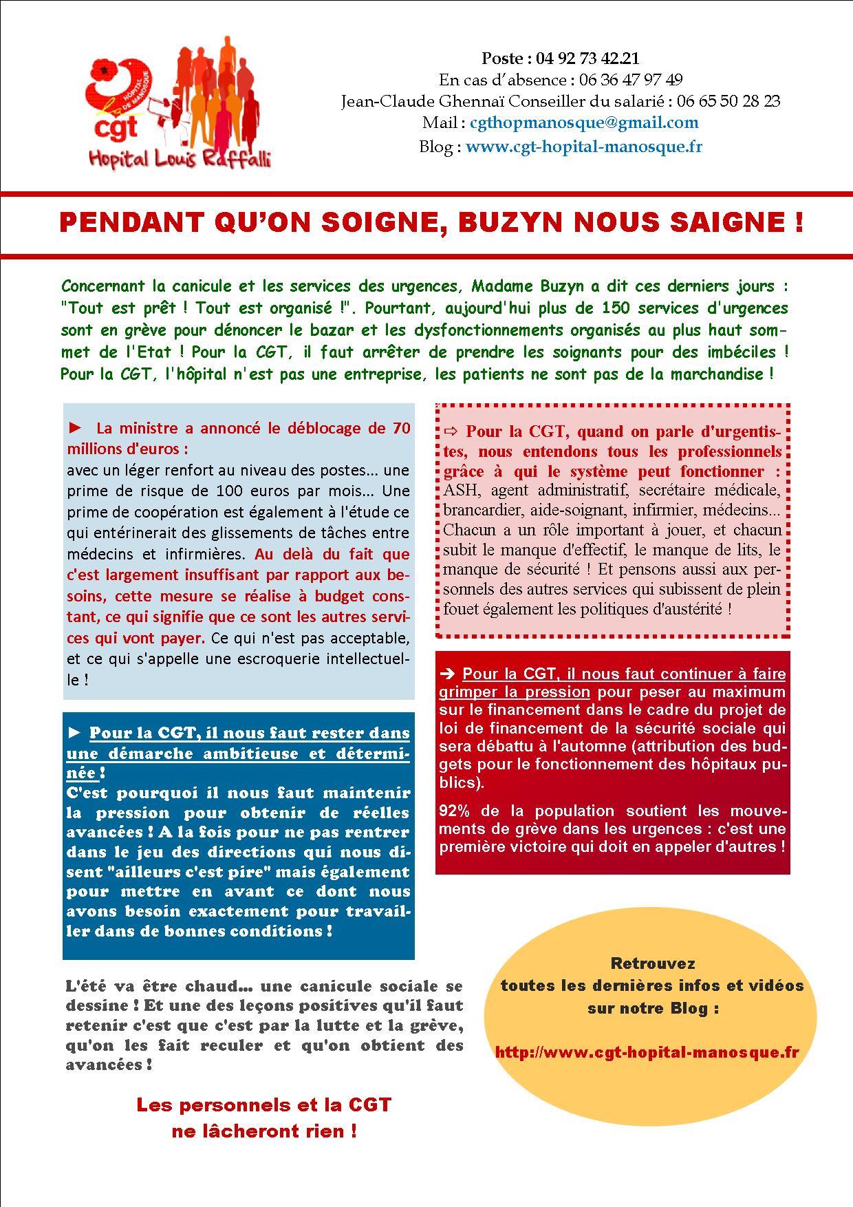Tract urgences du 3 juillet 2019 VD1