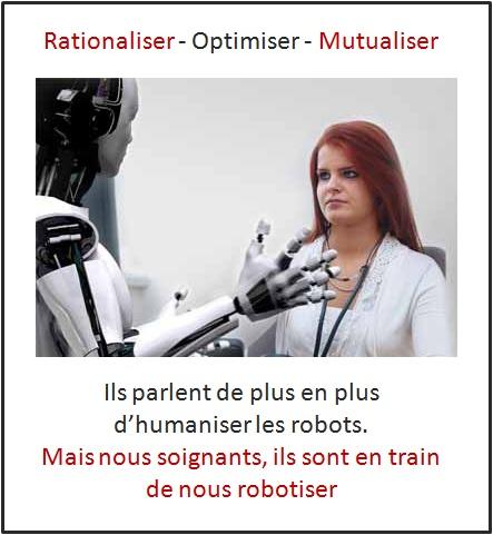 Rationaliser et robotiser les soignants