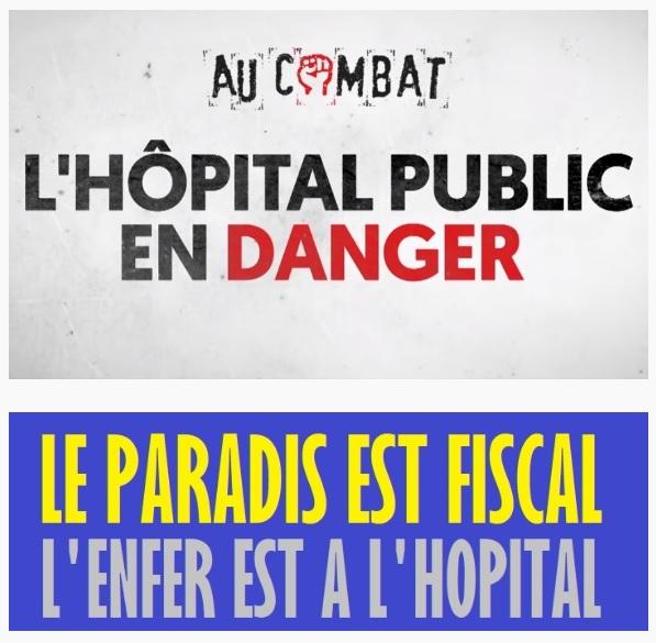 Lutter, hôpital public en danger