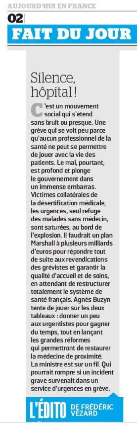 1154. Dossier crise aux urgences (2)