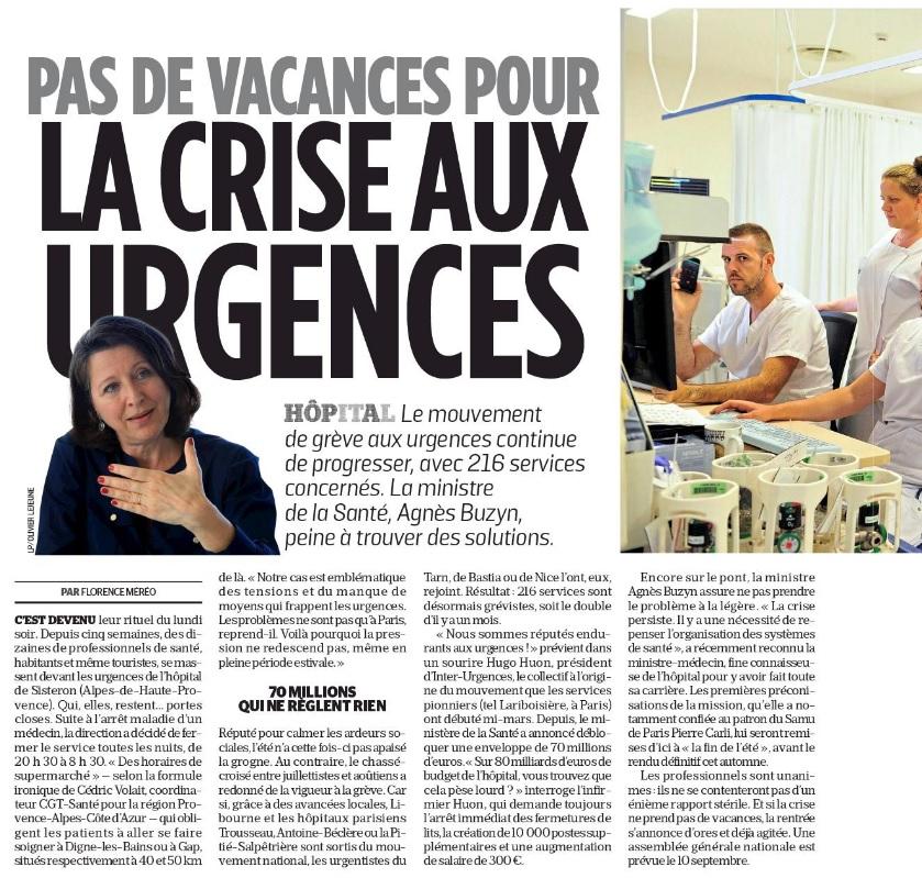 1154. Dossier crise aux urgences (3)